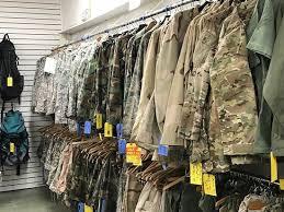 military surplus at lou s surplus dept