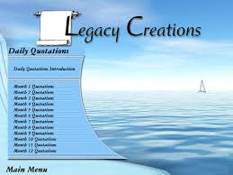 emotional legacy daily quotations a gift or family memories