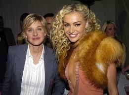 Ellen DeGeneres and Portia de Rossi in 2004   Ellen degeneres and portia, Portia  de rossi, Ellen degeneres
