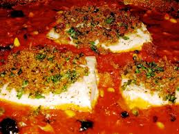 Swordfish Baked in Tomato Sauce with ...