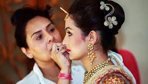 party makeup artists delhi allure