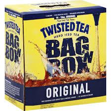 twisted tea beer bag n box original