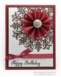 Rosette Birthday Tarjetas Caseras Manualidades Tarjetas