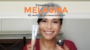 covering up melasma makeup tutorial