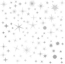 Amazon Com Sparkle Decals Star Decals Nursery Wall Decal Kids Room Decor Star Wall Decor Sparkle Wall Art Baby Room Star Wall Sticker Peel Stick Removable Decals Vintage Silver Arts Crafts Sewing