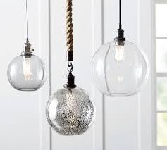 pb classic cord pendant glass globe