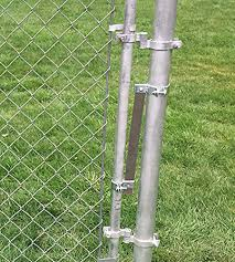 Constructed Of Heavy Duty Galvanized Steel Jake Sales Wood Fence Post Chain Link Gate Hinge With 5 8 Hinge Pin Horizontal Mount Talkingbread Co Il