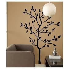 59 Tree Branches Peel And Stick Wall Decal Black Roommates Target