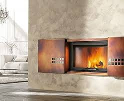 modern wood fireplaces