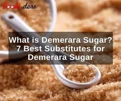 demerara sugar subsutes
