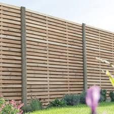 Forest Garden Venetian Hit Miss Fence Panel 6 X 6ft Multi Packs Wickes Co Uk Slatted Fence Panels Garden Fence Panels Wooden Fence Panels