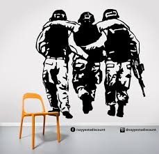 Army Soldier Wall Decal Oh Yes