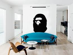 Bape Ape Decal Wall Art Designs Bape Interior