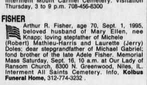 Arthur R. Fisher Obituary - Newspapers.com