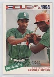 1994 Cuban League - [Base] #32 - Armando Johnson