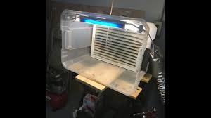 homemade spray booth airbrushing