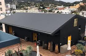 matte black kynar corrugated metal