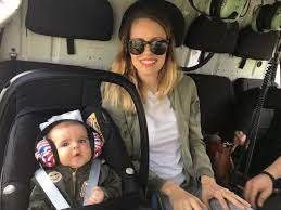 airplane flying with stroller traveling