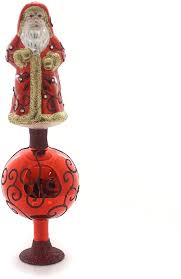 exquisite nikolaus tree topper glass