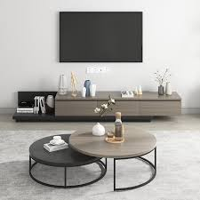modern round nesting coffee table 2