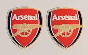 2x Arsenal F C Laptop Car Window Bumper Wall Vinyl Decals Stickers Buy Products Online With Ubuy Qatar In Affordable Prices 303053463357