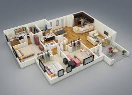 20 splendid house plans in 3d pinoy