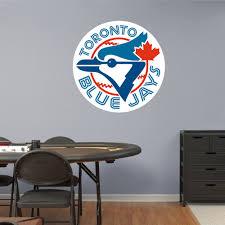 Toronto Blue Jays Logo Wall Decal Mlb Baseball Sport Decor Mural Vinyl Sticker