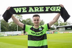 SIGNING | Aaron Collins signs two-year-deal with Forest Green Rovers