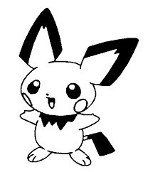 Kleurplaten Pokemon Pichu Kleurplaten Pokemon