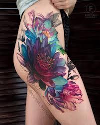 Idées de Tatouage Fleur pour Femme (100 photos) | TATOUEZ