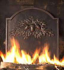 antique cast iron fireplace wood coal