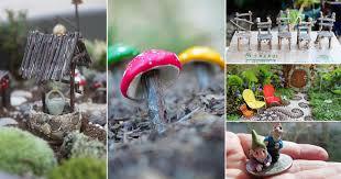 35 diy fairy garden accessories you can