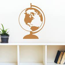 World Globe Wall Quotes Wall Art Decal Wallquotes Com