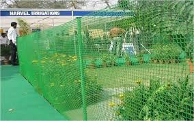 Green Plastic Safety Fence Mesh Planet Polynet Id 2253516555