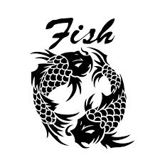13 9cm 17 5cm Koi Fish Animal Fashion Car Styling Car Sticker Decor Vinyl Decal S4 0048 Car Stickers Decoration Vinyl Decalstyling Car Aliexpress
