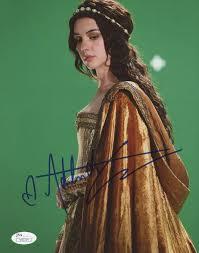 "Adelaide Kane Signed ""Reign"" 8x10 Photo (JSA COA)"