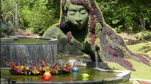 chihuly in the garden returns to