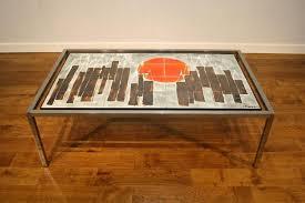 belarte tiled 1970s chrome coffee table