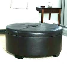black round ottoman coffee table round