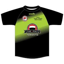 touch rugby kids printed t shirt