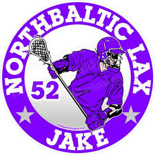 Personalized Lacrosse Car Decal Lax Car Decal Custom Etsy