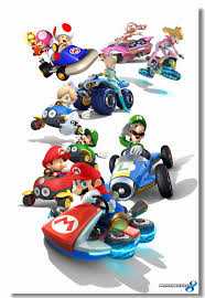 Custom Canvas Wall Decor Princes Peach Poster Super Mario Kart Wall Stickers Mural Cafe Bar Decals Dining Room Wall Arts 0499 Wall Stickers Aliexpress