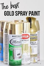 the best gold spray paint out there