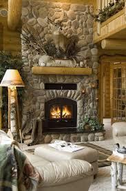34 beautiful stone fireplaces that rock