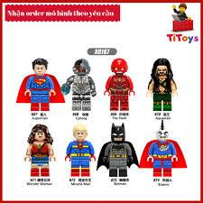 Minifigures các nhân vật siêu anh hùng DC - Đồ chơi Lắp ghép Xếp ...