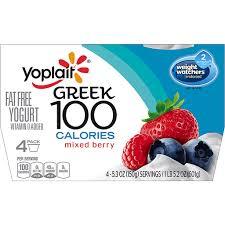 yoplait greek 100 calories yogurt mixed