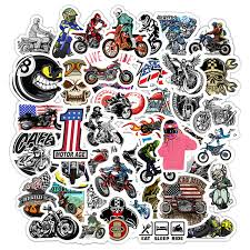 Best Deal Ffbf6 50pcs Motorcycle Motocross Cartoon Stickers For Suitcase Skateboard Laptop Luggage Fridge Phone Car Styling Decal Sticker F5 Cicig Co