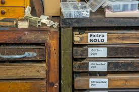 work create a letterpress print