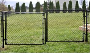 Chain Link Fence Gate For Security Fencing System