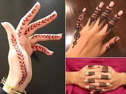 20 most adorable finger mehndi designs